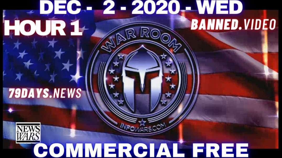 #WarRoomShow HR1: Bombshell Testimony Provides Irrefutable Proof Election Was Stolen, Martial Law?