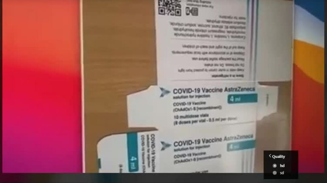 Covid Vaccine insert reveals horror ingredients