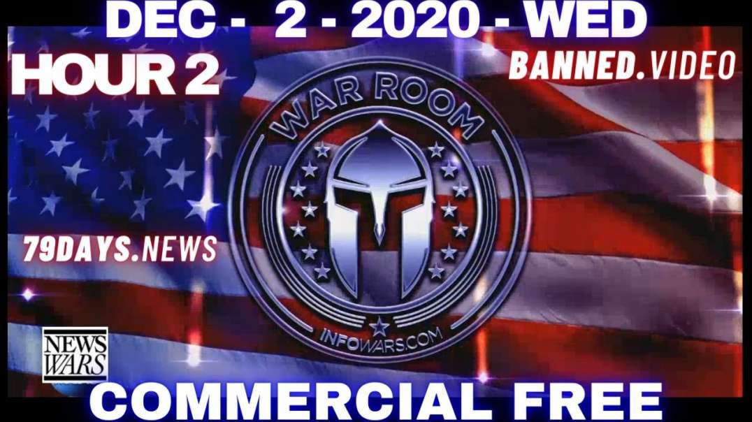 #WarRoomShow HR2: Bombshell Testimony Provides Irrefutable Proof Election Was Stolen, Martial Law?