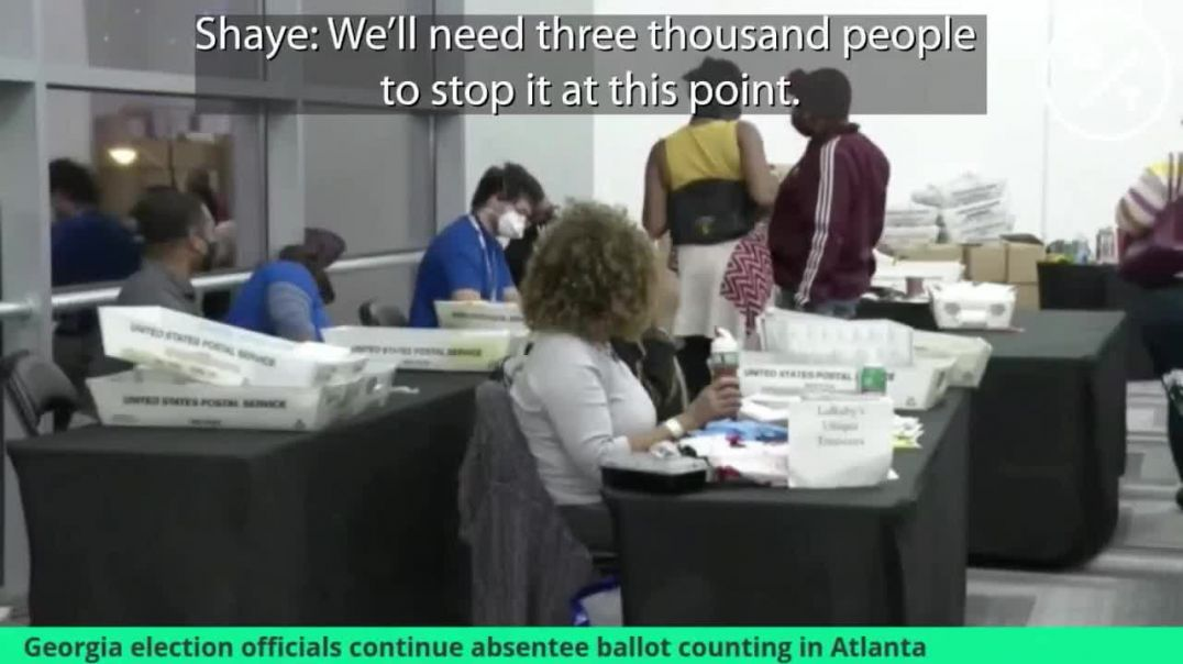 Explosive New Video Shows Georgia Election Officials Plotting The Steal