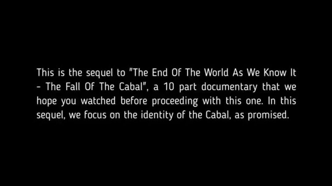 THE SEQUEL TO THE FALL OF THE CABAL PART 1 - 6 of 17