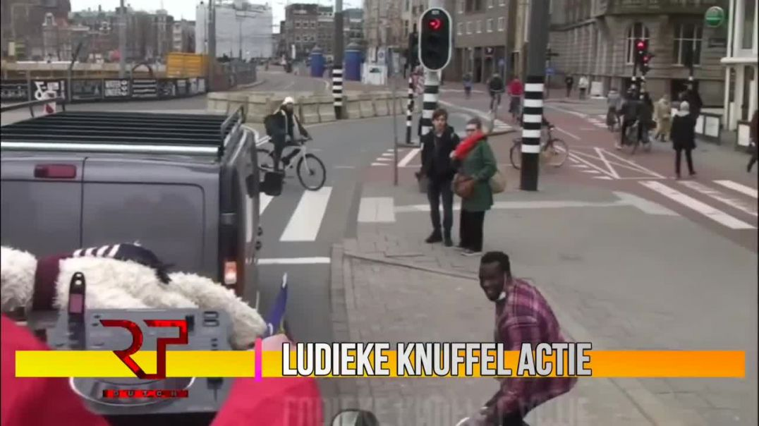 THE WORLD IS WAKING UP! Arrest after peaceful protest in Amsterdam, the Netherlands