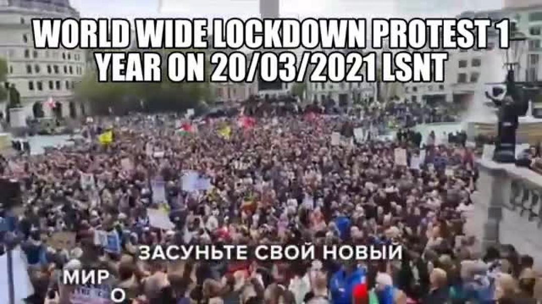 WORLDWIDE PROTEST HISTORY IN THE MAKING FOOTAGE FROM AROUND THE WORLD 20/03/2021