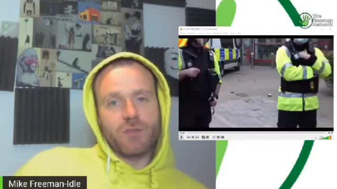 Mike Freeman shows possible Police Agent provocateur at Bristol riots