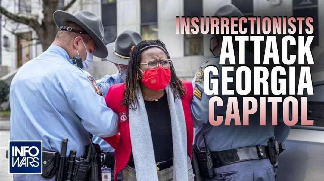 Shock Footage: Insurrectionists Attack Georgia Capitol