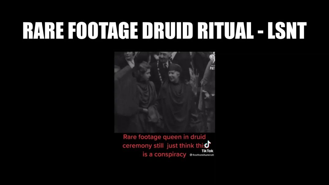 RARE FOOTAGE RITUALS. Attending a DRUID Ceremony Still Think People Are CRAZY?