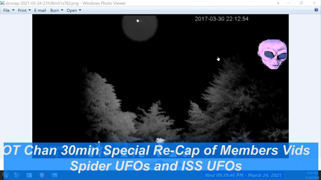 OT 30min Live Special - Spider UFOs in the Sky and Members UFO analyzed- is it ISS or what