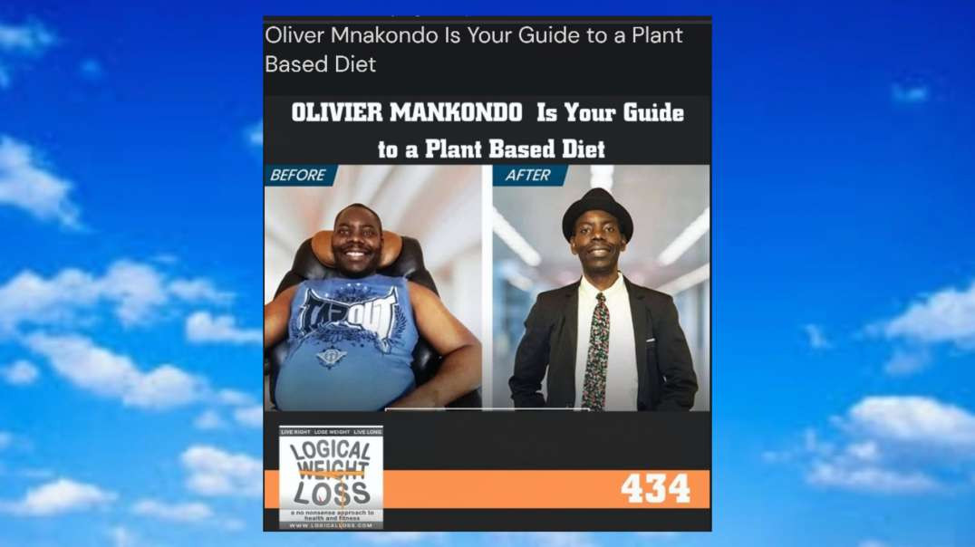 Olivier Mankondo is your guide to a plant-based diet -Dave Jackson's podcast