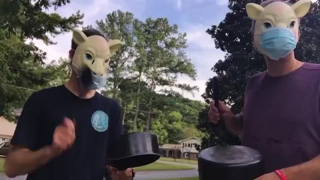Mask People are Sheeple - catchy tune