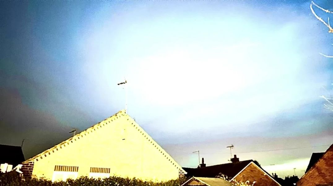 UFO = Chem Trail Laying MotherF@@ker MotherF@@ker- UFO doing the dirty deed  Courtesy of PXH