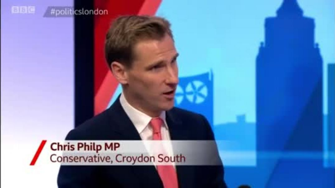 Chris Philp - BBC Politics London - Sadiq Khan must stop making excuses