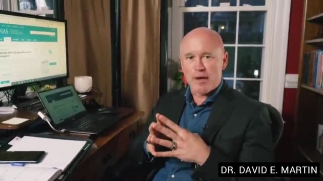 The People Behind EVENT 201 -  DR. DAVID E. MARTIN