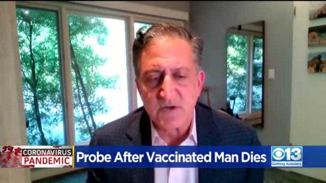 Mysterious death of a man who died STRAIGHT AFTER  covid vaccine. Usual lying doctor covers up