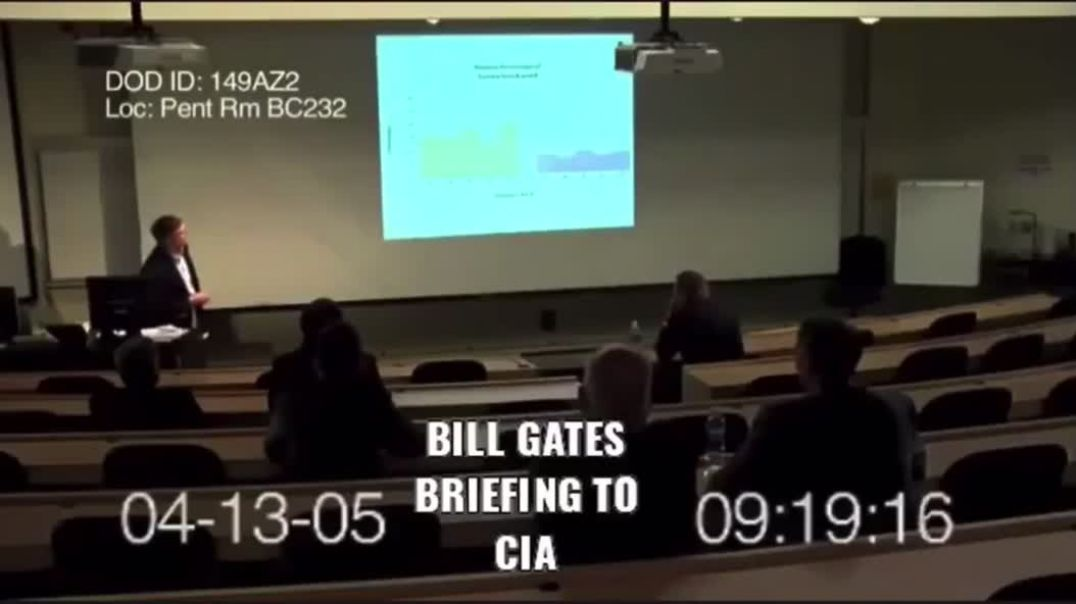 Supposedly BILL GATES presentation to DARPA on nano tech mind control through a FLU VIRUS
