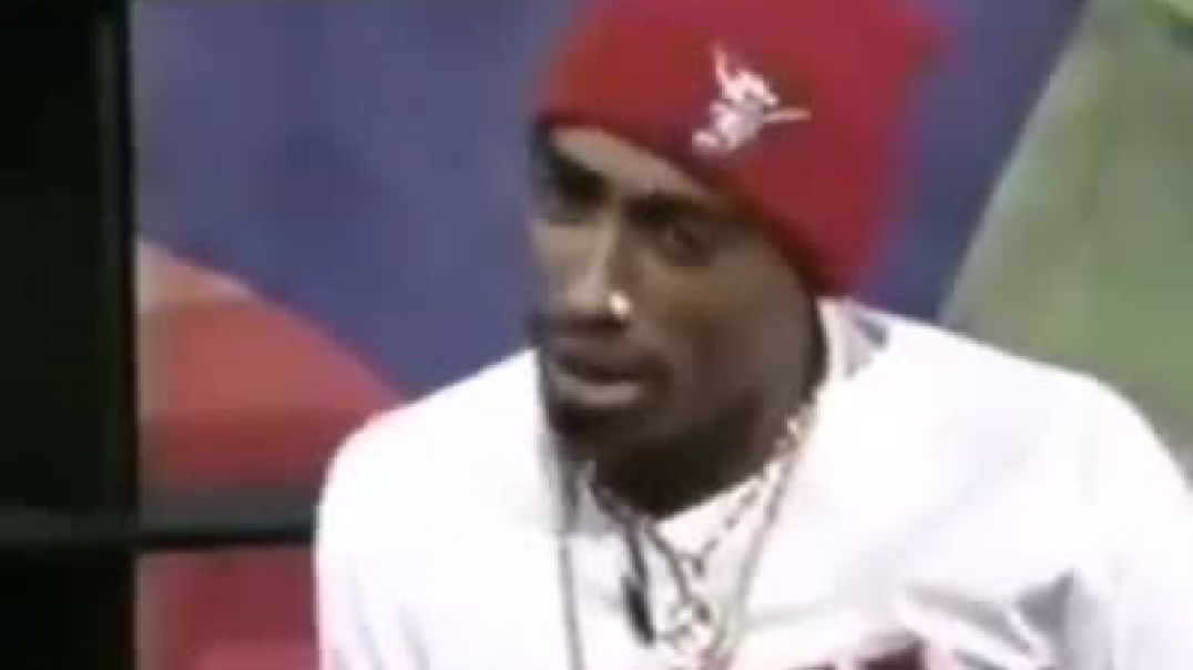 2Pac Interview clip