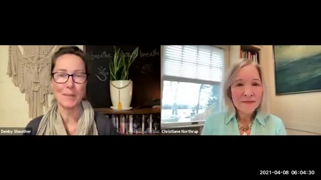 Dr Christiane Northrup with Denby Sheather | Spiritual Warriors versus Medicinal Psychopaths