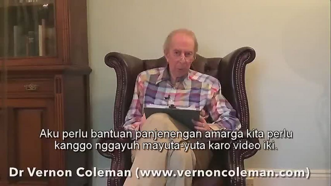 Vernon Coleman/WMD covid vaccines/Javanese subtitles