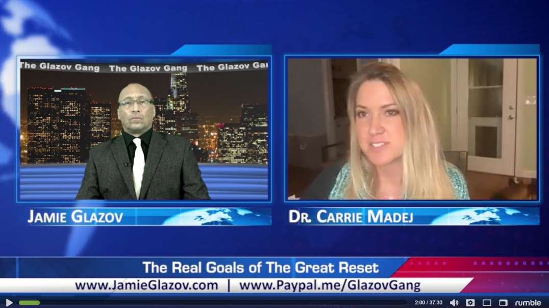 Dr. Carrie Madej - It's a War against God and His Creation - GlazovGang