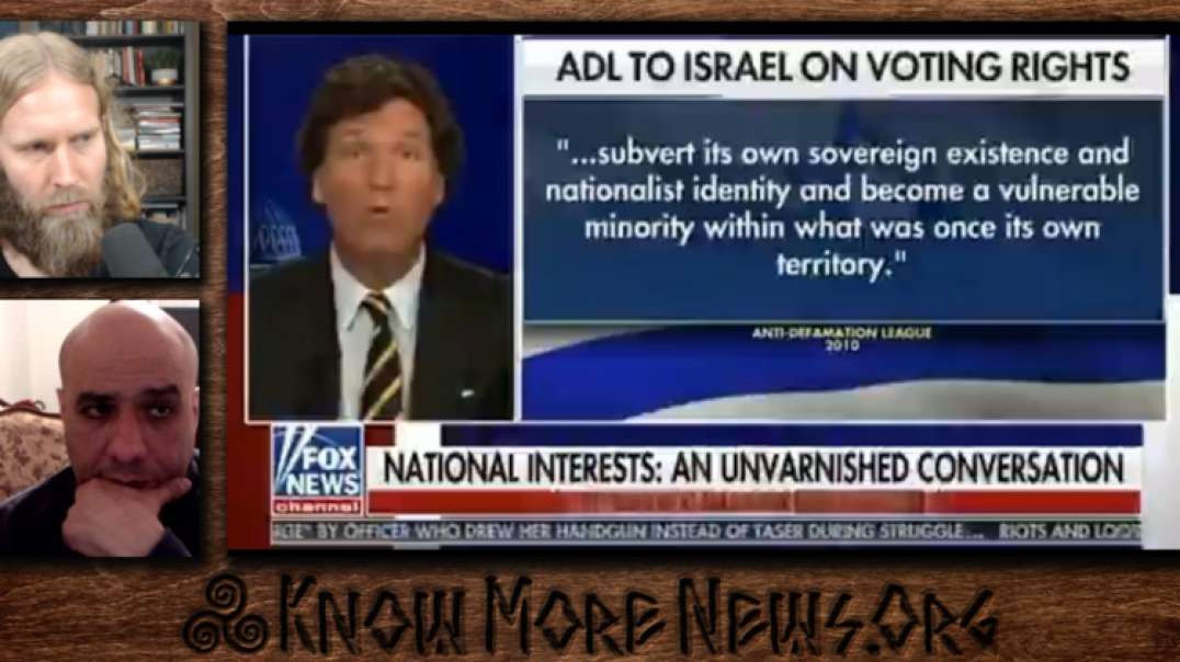 ADL DEMANDS FOX FIRE TUCKER/ANTI AMALEK AGENDA ADVANCED LIVE W/ ADAM GREEN