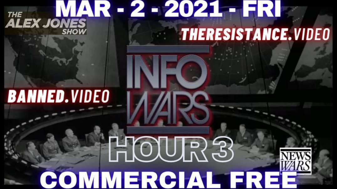 """#AlexJonesShow HR3: Biden to Destroy US """"Racist"""" Hwy. While China Plans to Administer Vax"""