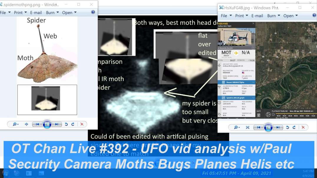 UFO vid Catch-Up with Paul - More Analysis to figure out Inter dimensional being] - OT Chan Live-392