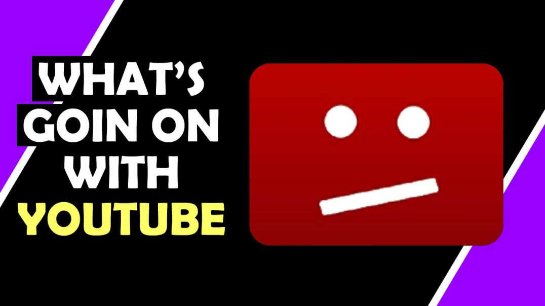 What's  Goin On With YOUTUBE? / Hugo Talks #lockdown