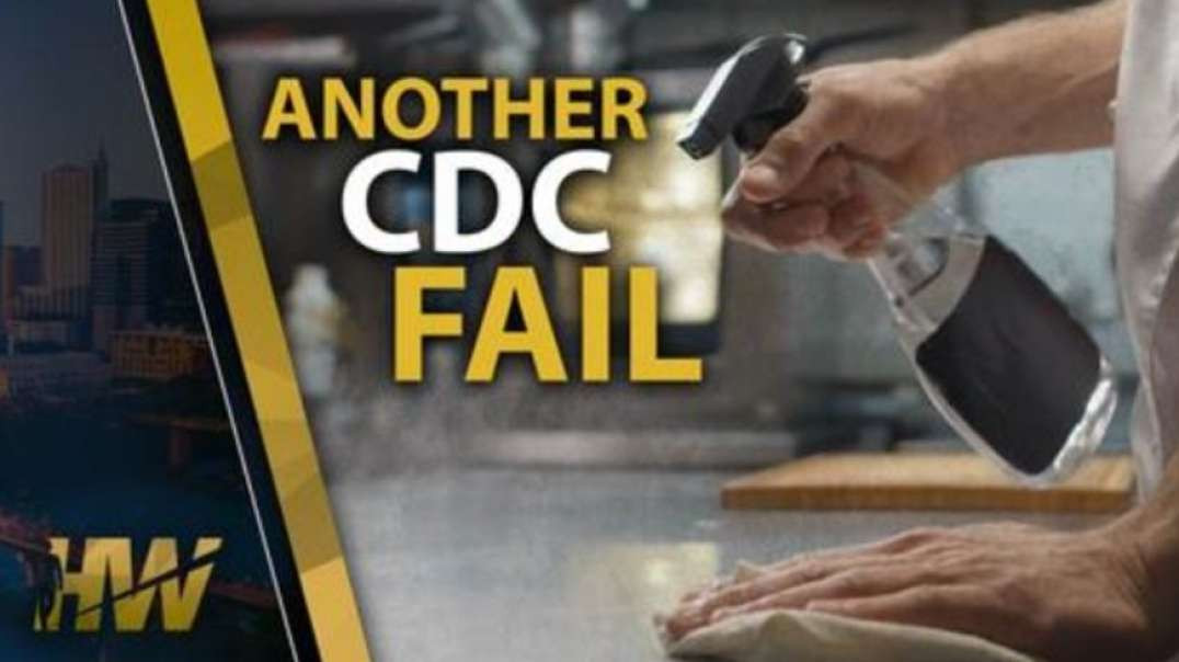 YET ANOTHER CDC FAIL