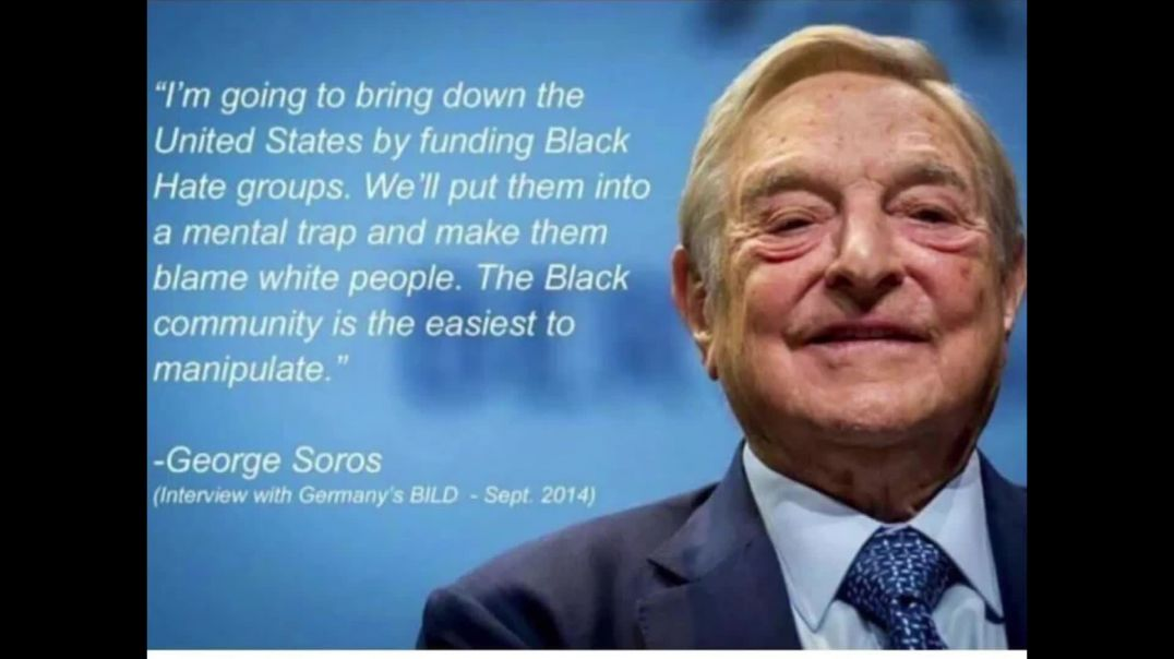 George Soros showing who he truly is!