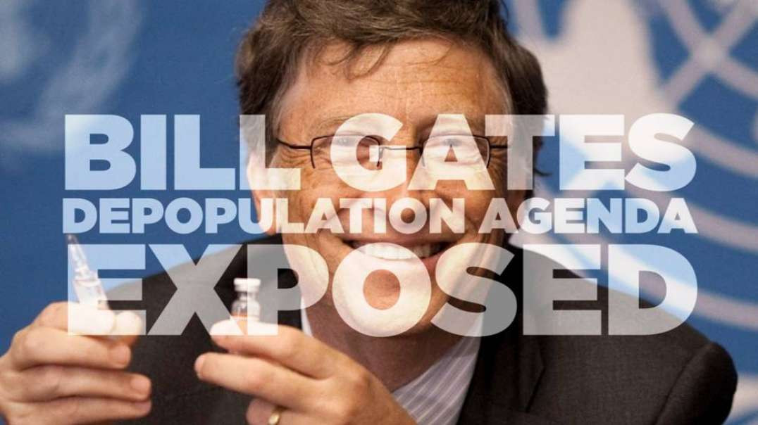 ⁣Watch Bill Gates Admit To Human Depopulation Program