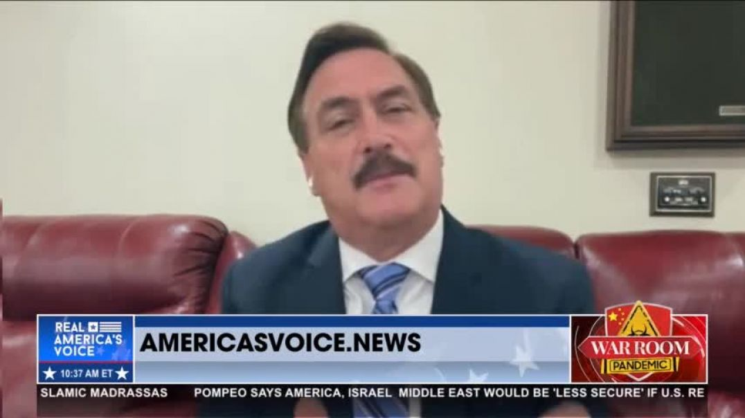 Mike Lindell Predicts Joe Biden Will Be Gone This Year!
