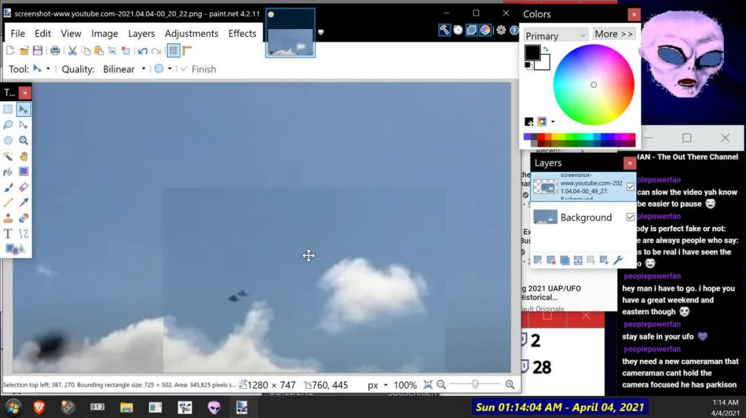UFO vid Catch-Up with Paul - More Noise in the System! ] - OT Chan Live-391-Pt2 of 2