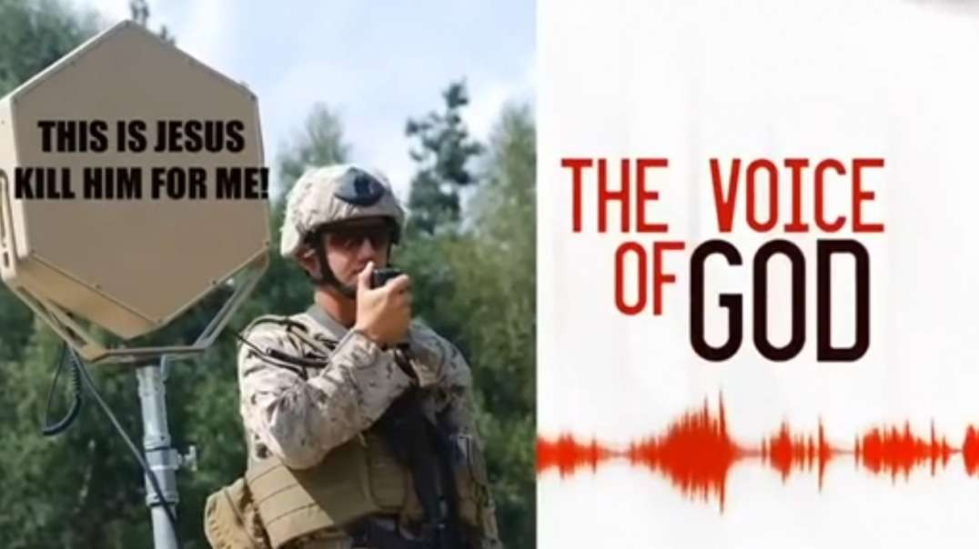 Project Blasphemy, the military has a secret weapon to make you believe God is talking to you.