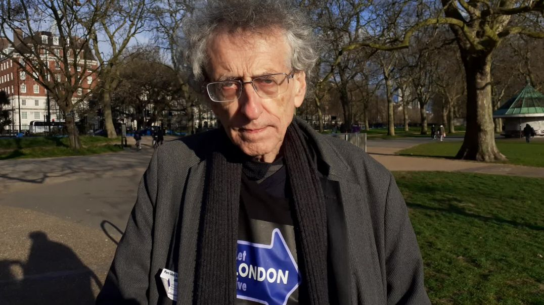 Piers Corbyn on Track and Trace as businesses open up on the 12th April