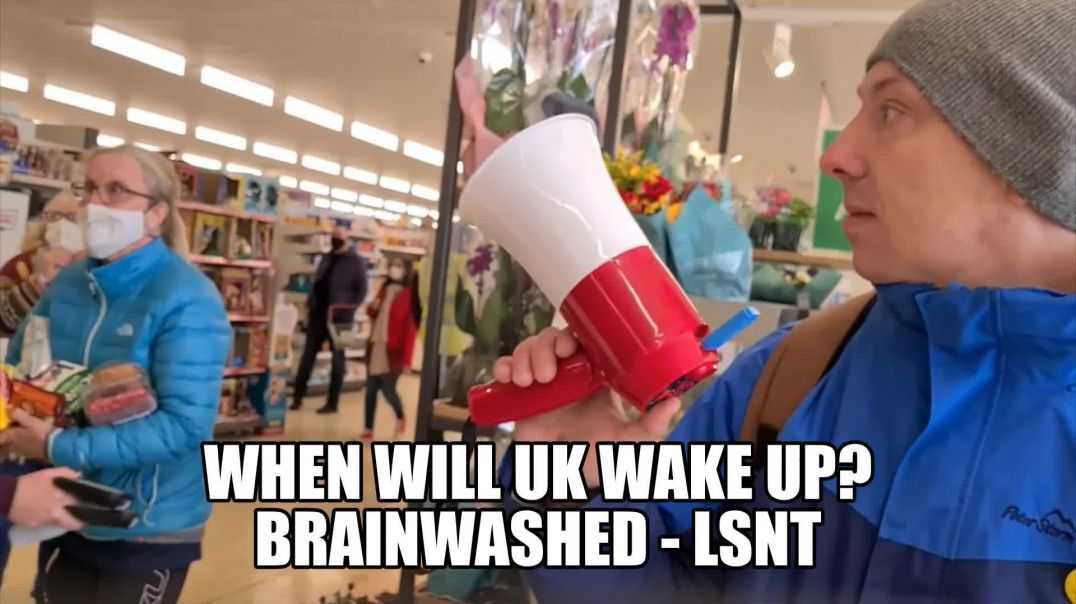 The Brits Are Sleeping But They Think They Are EDUCATED. Brainwashed Britain