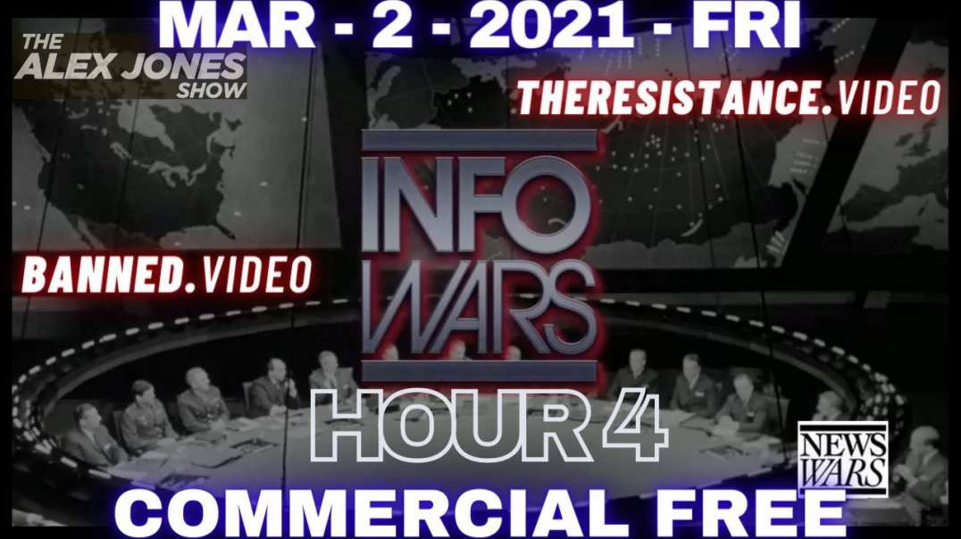 """#AlexJonesShow HR4: Biden to Destroy US """"Racist"""" Hwy. While China Plans to Administer Vax"""