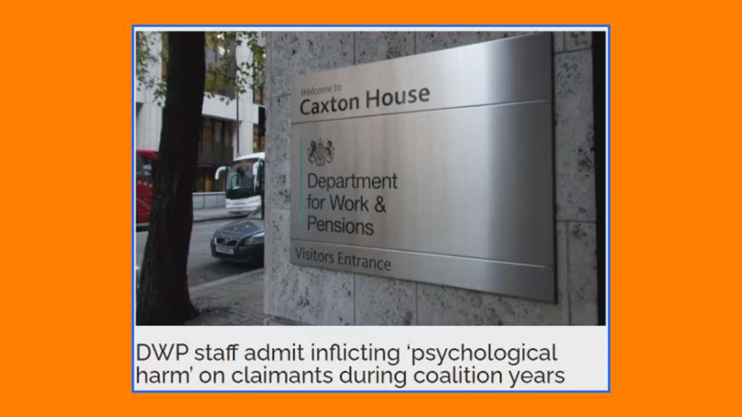 DWP admits to causing psychological harm to disabled people