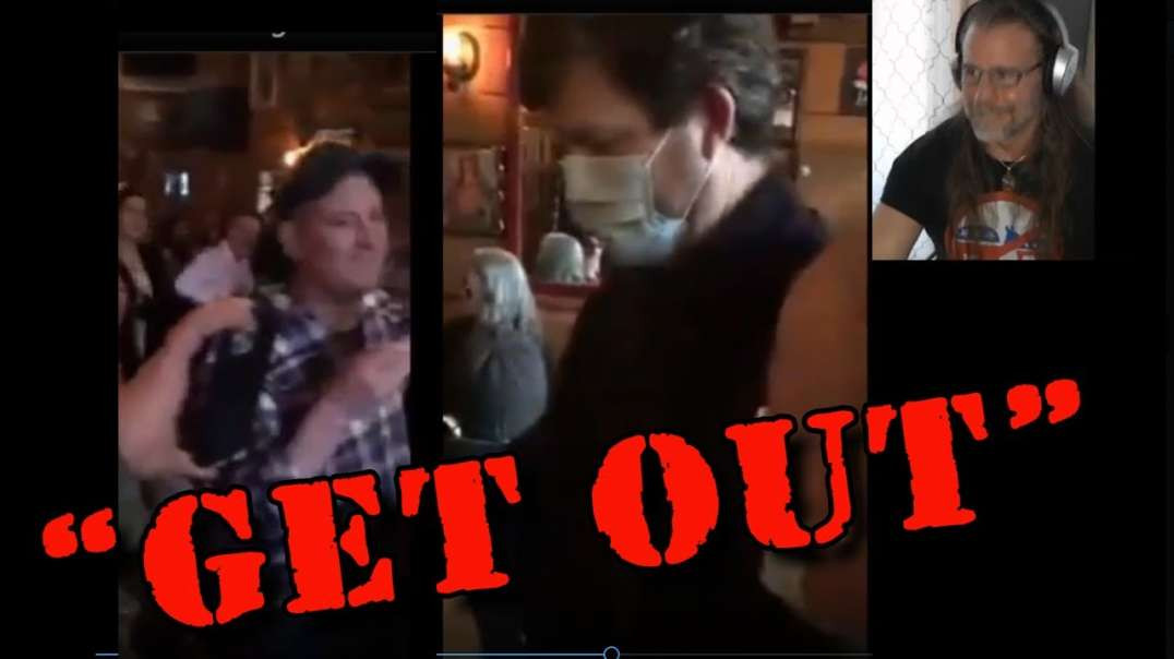 Vancouver Health-Inspectors KICKED OUT of Restaurant by Supportive Customers!
